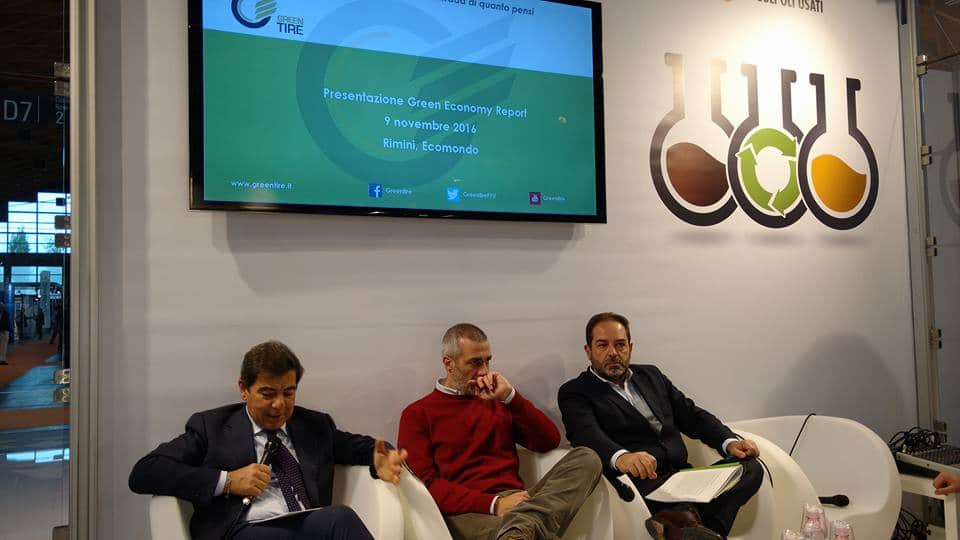 Greentire presenta ad Ecomondo il Green Economy Report