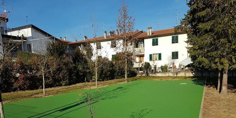 Greentire ha ristrutturato il playground della scuola Giotto di Mercatale Valdarno