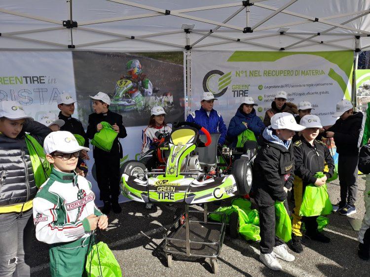 Selezionati i piloti del team Greentire al Briggs Kart Championship