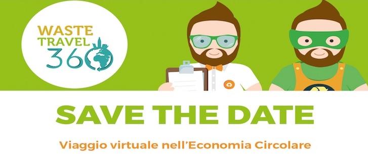 Waste Travel 360°TM, il viaggio virtuale alla scoperta dell'economia circolare
