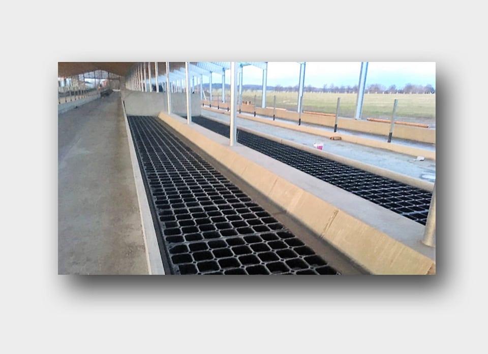 Pavimenti per allevamenti in gomma recuperata da pneumatici fuori uso