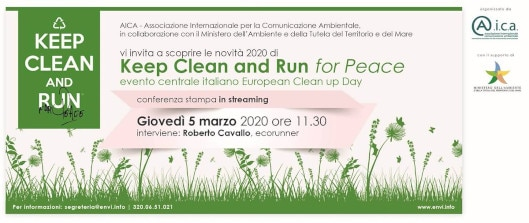 "Greentire partner dell'iniziativa ""Keep Clean and Run for Peace 2020"" – La corsa contro il littering"
