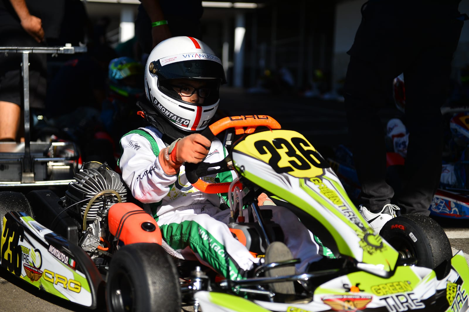 Con il Campionato Italiano ACI Karting riparte Greentire in pista